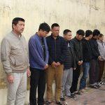 <span>12 đối tượng tại Hưng Yên bị bắt giữ về hành vi đánh bạc</span>