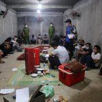 <span>Triệt phá tụ điểm đánh bạc trong hầm Vĩnh Phúc</span>