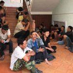 <span>Công an tỉnh Gia Lai tạm giữ 49 người đá gà trên đỉnh đèo</span>