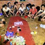 <span>Nhóm đối tượng đánh bạc trong chòi cà phê tại Gia Lai bị bắt quả tang</span>