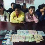 <span>Triệt xóa tụ điểm đánh bạc tại Tây Ninh, bắt giữ 9 đối tượng</span>