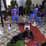 <span>Tụ điểm đánh bạc tại Vĩnh Phúc bị triệt phá, bắt tạm giữ 38 đối tượng</span>