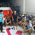 <span>Bắt quả tang 42 con bạc đang say sưa sát phạt tại Nghệ An</span>