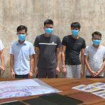 <span>Bắt quả tang 6 đối tượng đánh bạc tại Thanh Hóa, thu hơn 200 triệu đồng</span>