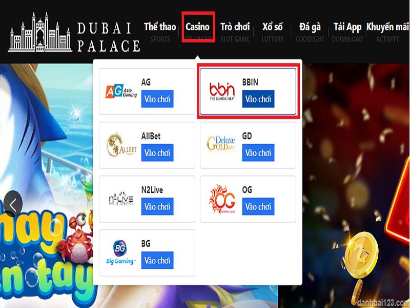 Các bước để chơi xóc dĩa tại nhà cái Dubai casino như thế nào?