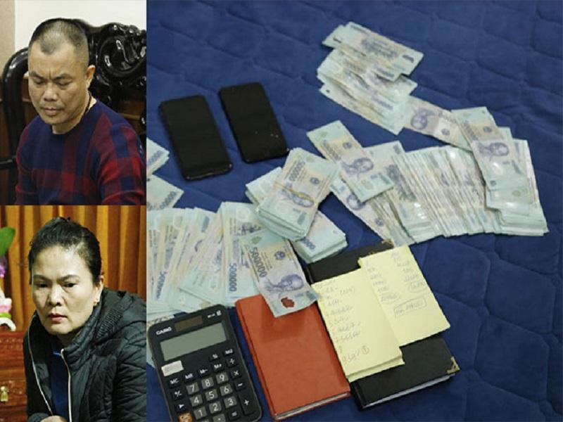 Triệt xóa nhiều tụ điểm lô đề tại Hà Tĩnh, bắt giữ 8 đối tượng liên quan