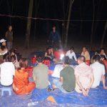 Bắt hàng chục đối tượng đánh bạc xuyên đêm trong rừng cao su