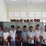 Bắt quả tang 8 đối tượng tụ tập đánh bạc tại Đồng Nai