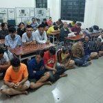 Bắt tạm giam 33 đối tượng chơi xóc đĩa tại Đồng Nai