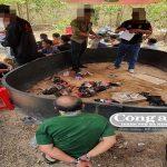 Đột kích sới gà, bắt giữ 49 con bạc tại Gia Lai