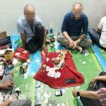Lập sòng bạc trong nhà để thu tiền xâu, nhóm đối tượng bị bắt