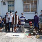 Trường gà của 9 đối tượng cầm đầu tại An Giang bị triệt phá