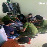 Bắt quả tang 7 đối tượng đánh bạc trong nhà vắng tại Đà Nẵng