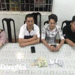 Khởi tố các đối tượng tổ chức đánh bạc tại TP. Biên Hòa, thu giữ 13 triệu đồng