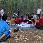 Triệt phá sới bạc giữa vườn cao su ở Bình Phước, tạm giữ 21 đối tượng