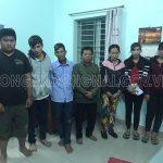 Triệt phá tụ điểm đánh bạc ở Phú Bình, bắt giữ 06 đối tượng