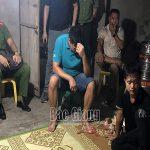 Bắt nhóm đối tượng chơi cờ bạc dưới tầng hầm ở Bắc Giang
