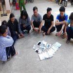 Tạm giữ 17 đối tượng tham gia lắc tài xỉu tại Tây Ninh, thu giữ 37 triệu đồng