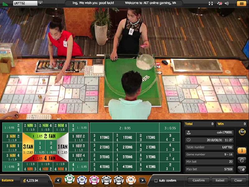 Tìm hiểu về trò chơi Fantan và cách chơi tại nhà cái casino Fb88