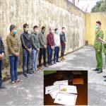 Bắt giữ 8 đối tượng sát phạt nhau bằng đánh bài 3 cây tại Hà Nam