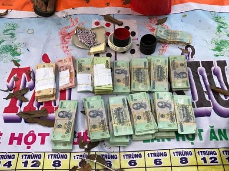 Triệt phá thành công 2 sới bạc tại Tây Ninh, thu giữ hơn 1 tỉ đồng