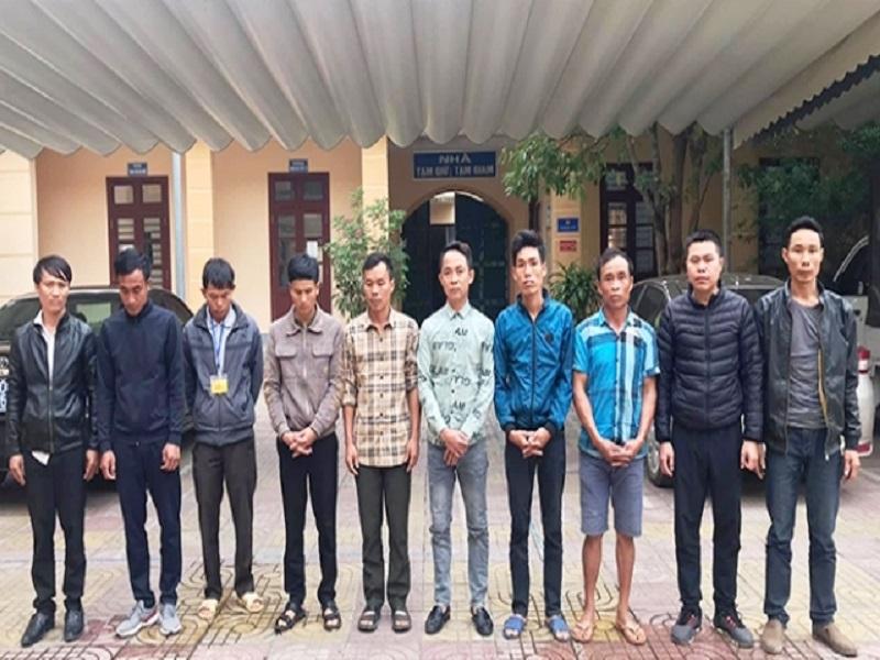 Khởi tố nhiều đối tượng đánh bạc ở miền núi Hà Tĩnh
