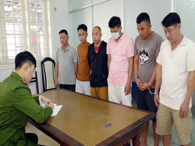 Tạm giữ 6 đối tượng cầm đầu đường dây đánh bạc tại Đà Nẵng