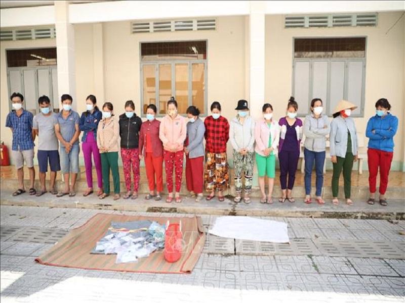 Triệt xóa tụ điểm đánh bạc, thầu đề quy mô lớn tại Tây Ninh